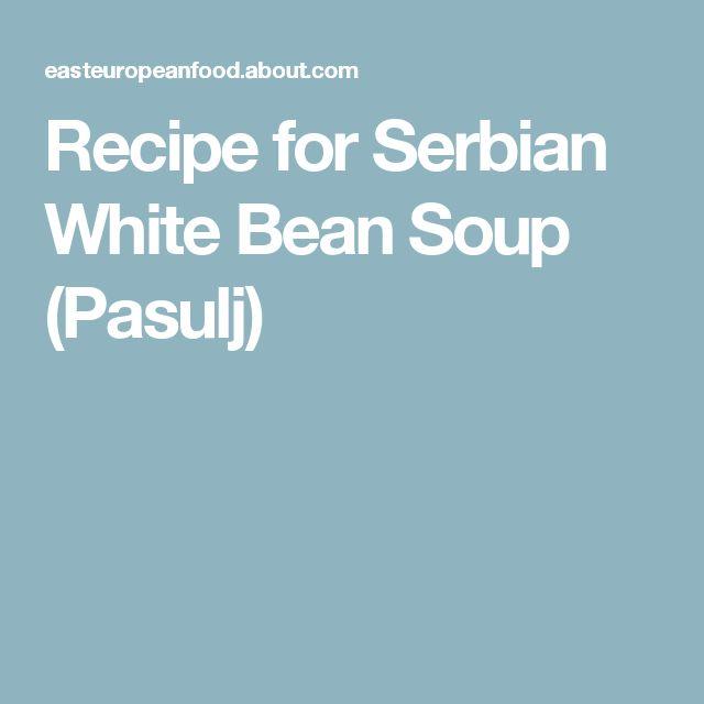how to make serbian pasulj