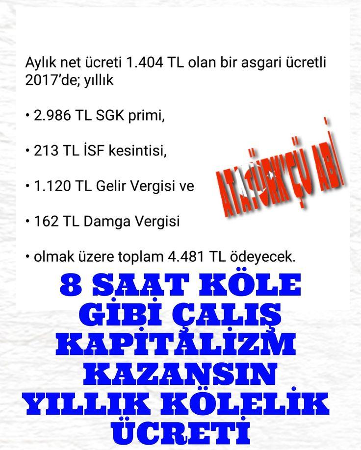 AKP DÖNEMİ KÖLELİK ÜCRETİ.