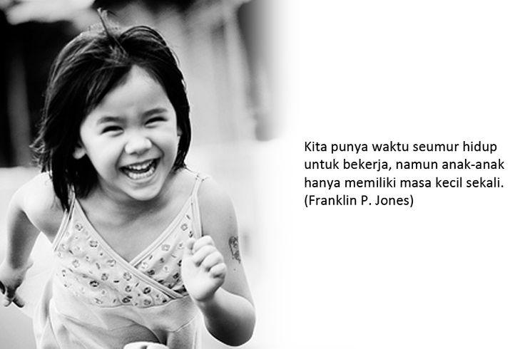 Kata Kata Bijak Untuk Anak Perempuan Kecil Gambar Status Wa