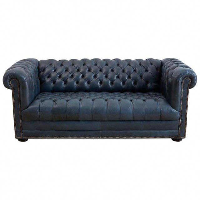 English Tufted Navy Blue Chesterfield Sofa For Sale Sofa Sale Best Leather Sofa Sofa