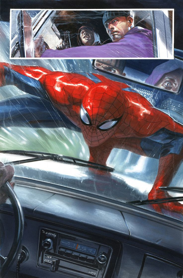 Spider-Man by Werther Dell'Edera and Gabriele Dell'Otto *