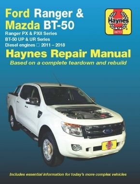 haynes ford ranger px pxii 2011 2018 ford 4wd repair manuals rh pinterest com 1990 Ford Courier 1984 Ford Courier