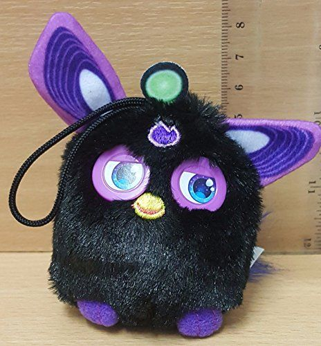 Furby McDonalds Happy Meal Toy 2016 FURBY Connect Dino Furbling Bag Hanger BLACK Furby Connect toy from the McDonalds 2016 promotion. Comes with code on lable for opening a Dino Furbling using app. (Barcode EAN = 8438579540269). http://www.comparestoreprices.co.uk/december-2016-3/furby-mcdonalds-happy-meal-toy-2016-furby-connect-dino-furbling-bag-hanger-black.asp