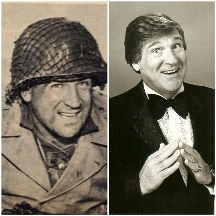 Shecky Green-Navy-WW2-served on aircraft carrier Bon Homme Richard based in the Pacific-1944- (Comedian)