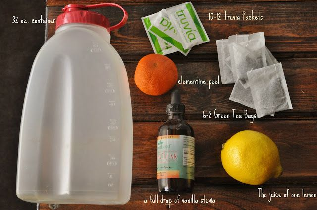 a healthier, fitter ME!: Made at Home: Just like Panera's Iced Green Tea!