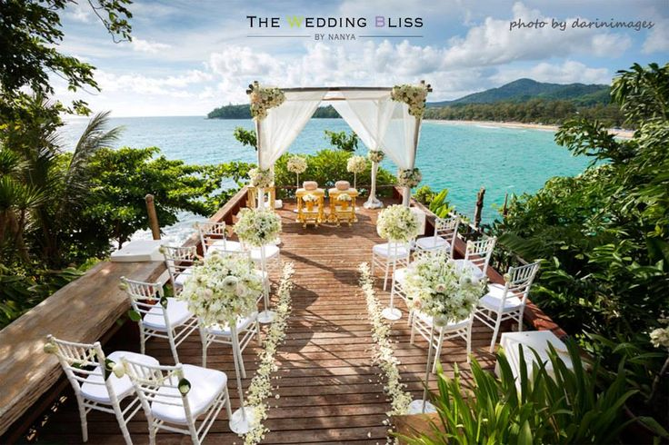 phuket-wedding-destination thailand. Phuket is one of the best venues for wedding in Thailand due to its gorgeous topography, high-end facilities and easy access to the island. This biggest island of Thailand is located in the south of the country in the Andaman Sea.