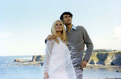 "Brigitte Bardot & Laurent Terzieff in ""Two Weeks in September"", 1966"