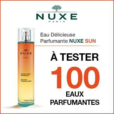 Test produits - Eau Délicieuse Parfumante Nuxe Sun - Nous recherchons 100 testeurs ! Posez votre candidature gratuitement.