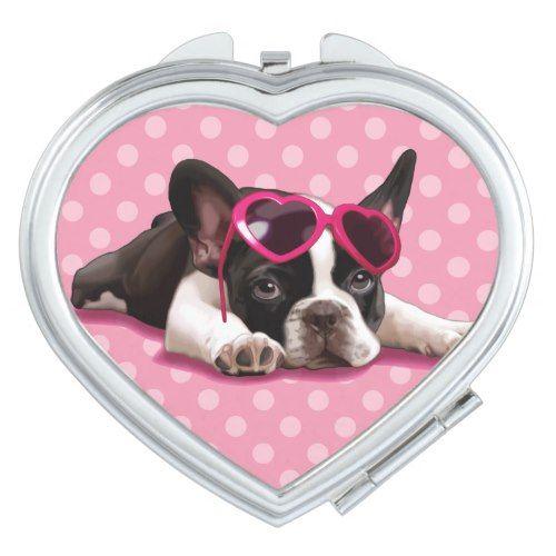 French Bulldog Puppy Compact Mirror Zazzle Com Bulldog Puppies