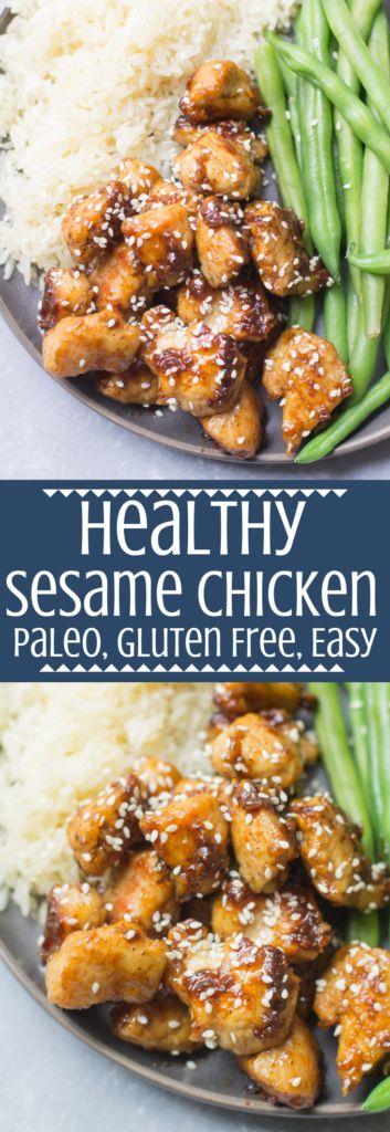 Healthy Sesame Chicken