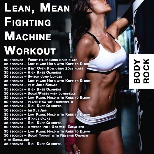 Hiit This Lean, Mean Fighting Machine Workout
