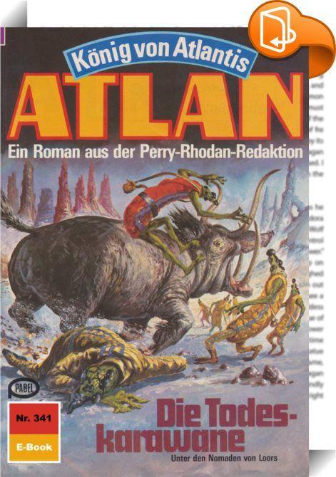 Atlan 341: Die Todeskarawane (Heftroman)    :  Die Erde ist wieder einmal davongekommen. Pthor, das Stück von Atlantis, dessen zum Angriff bereitstehende Horden Terra überfallen sollten, hat sich dank Atlans und Razamons Eingreifen wieder in die unbekannten Dimensionen zurückgezogen, aus denen der Kontinent des Schreckens urplötzlich materialisiert war. Atlan und Razamon, die die Bedrohung von Terra nahmen, gelang es allerdings nicht, Pthor vor dem neuen Start zu verlassen. Der ungebet...
