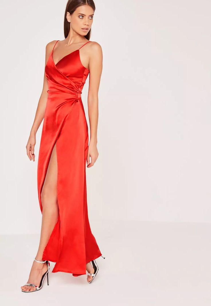 Best 25 Red Silk Dress Ideas On Pinterest Silk Dress