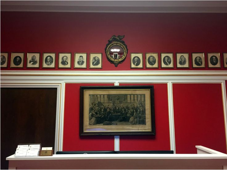 """Rep. Aaron Schock's (R-Ill.) new office in the Rayburn Office Building, which was designed to resemble the dining room of the PBS show """"Downton Abbey."""""""