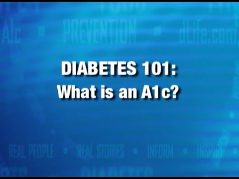 What Is An A1c | Diabetic Connect