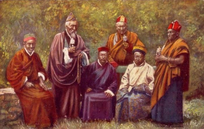 Tibetan Lama - http://www.britannica.com/topic/lama