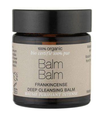 Balm Balm – Βάλσαμο με Λιβάνι για Βαθύ Καθαρισμό 30ml    Ένα υπέροχο οργανικά πιστοποιημένο βάλσαμο για τον βαθύ καθαρισμό της επιδερμίδας σας σε πρόσωπο και λαιμό!  Περιέχει βιολογικά συστατικά που φροντίζουν την επιδερμίδα σας ενώ ταυτόχρονα την αφήνουν λαμπερή και καθαρή  WWW.ORGANICBRANDS.GR