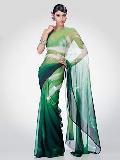 Satya Paul - SAREES - Printed & Embellished Sarees - RD4640