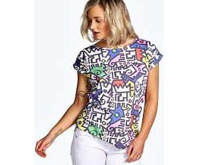 boohoo Multi Print T Shirt - multi azz12309 Make your top pop this season with sporty, baseball- style basic tees in quilted finishes with ribbed, stripe trims. Crew necks come in block colours, crop tops with mesh inserts and long sleeve jerse http://www.comparestoreprices.co.uk/womens-clothes/boohoo-multi-print-t-shirt--multi-azz12309.asp