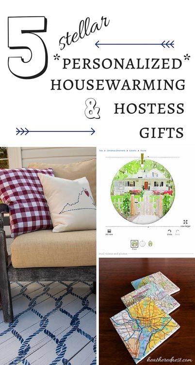 5 Stellar, Personalized Housewarming or Hostess Gifts