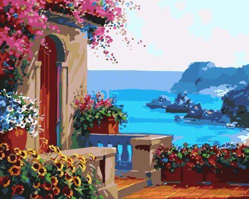 «Крыльцо у моря» Микки Сенкарик