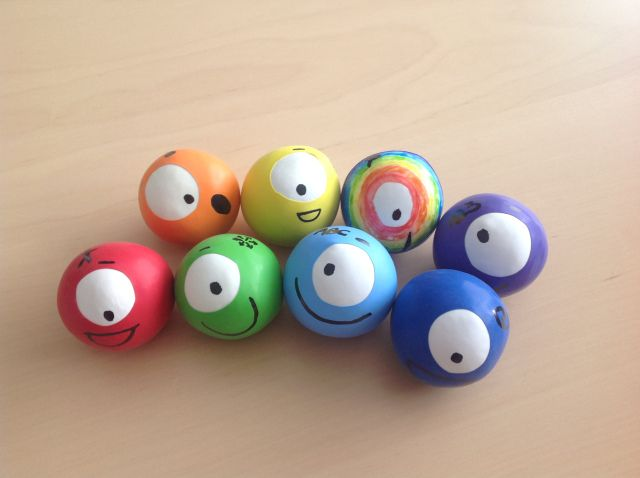 Balles anti-stress Octofun