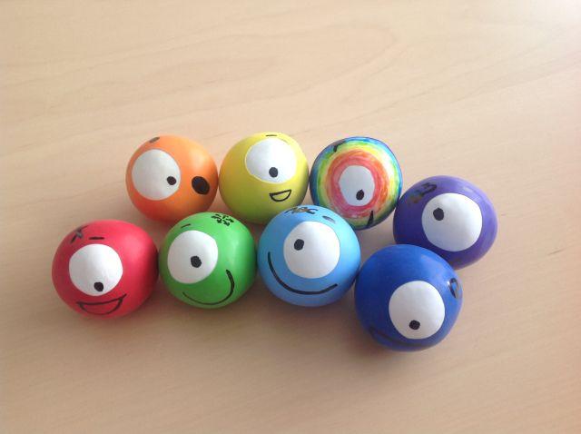 Balles anti-stress Octofun                                                                                                                                                                                 Plus