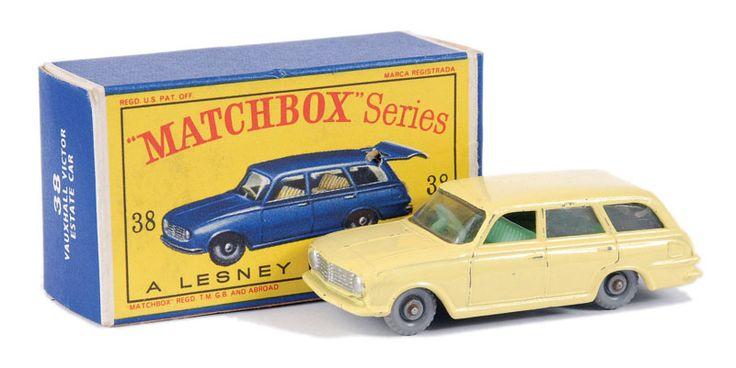 Matchbox Regular Wheels No.38b Vauxhall Victor Estate Car