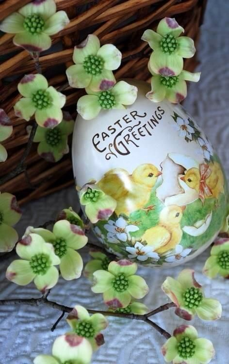 Happy Easter to all of you! Love & Peace! (via pinterest)