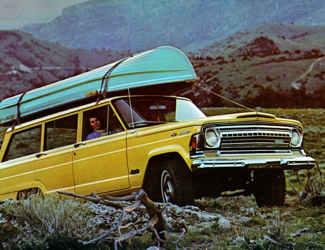 The Jeep Wagoneer not only a precursor to the luxury SUV, it was also a magnificent off-roading machine.