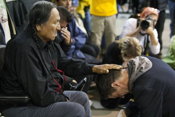 Forgiveness Ceremony Unites Veterans And Natives At Standing Rock Casino | The Huffington Post