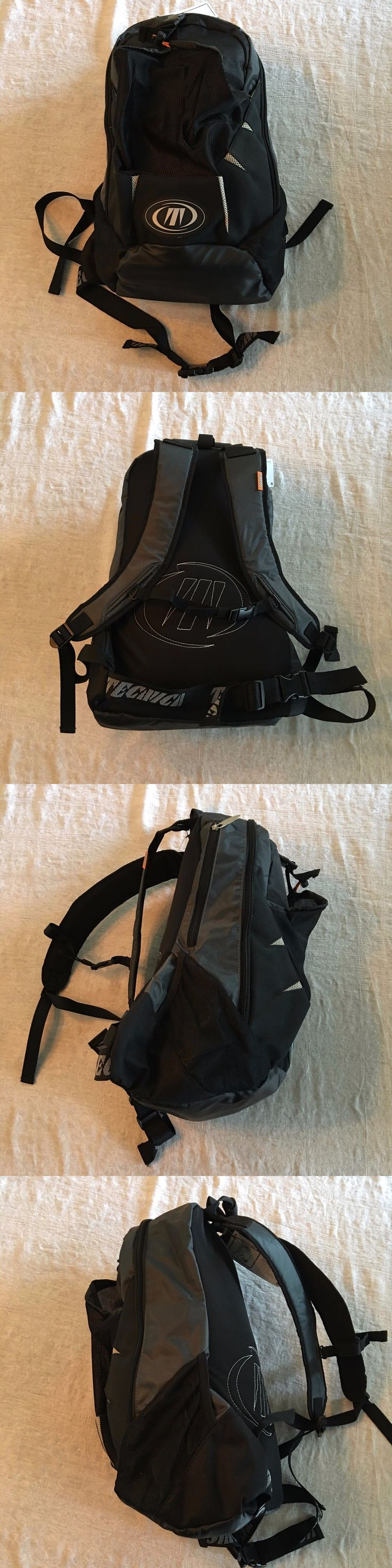 Bags and Backpacks 21229: Tecnica Ski Snow Outdoor Backpack Black / Grey - New With Tags! -> BUY IT NOW ONLY: $35 on eBay!