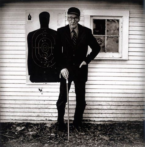 William S. Burroughs by Anton Corbijn