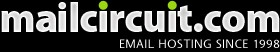 Mailcircuit revolutionized the Anti-Spam industry and now provides enterprise level protection for any sized business. Sophisticated RFC compliancy verification systems placed at the perimeter of the mail exchange infrastructure detect and reject mail destined to MailCircuit accounts.