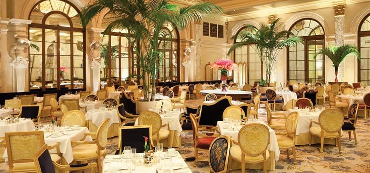 The Palm Court for high tea - Plaza Hotel, New York City