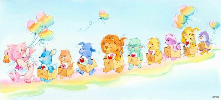 *Care Bear cousins train parade, so cute