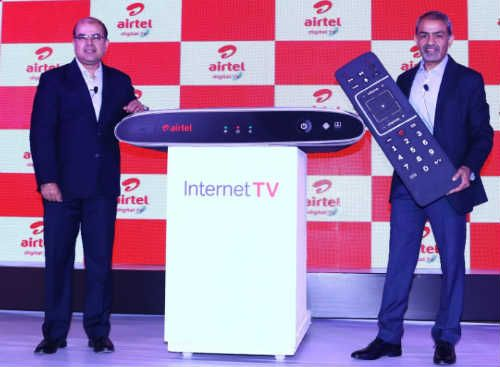 Airtel Digital TV, the DTH arm of Bharti Airtel, today launched 'Internet TV' – India's first hybrid STB, powered by Android TV, which brings the best of online content to the TV screen along with a bouquet of over 500 plus satellite TV channels.   #Airtel #Airtel Digital TV #Airtel Internet TV for Digital Homes