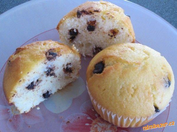 Muffinky zakysankové s postupem