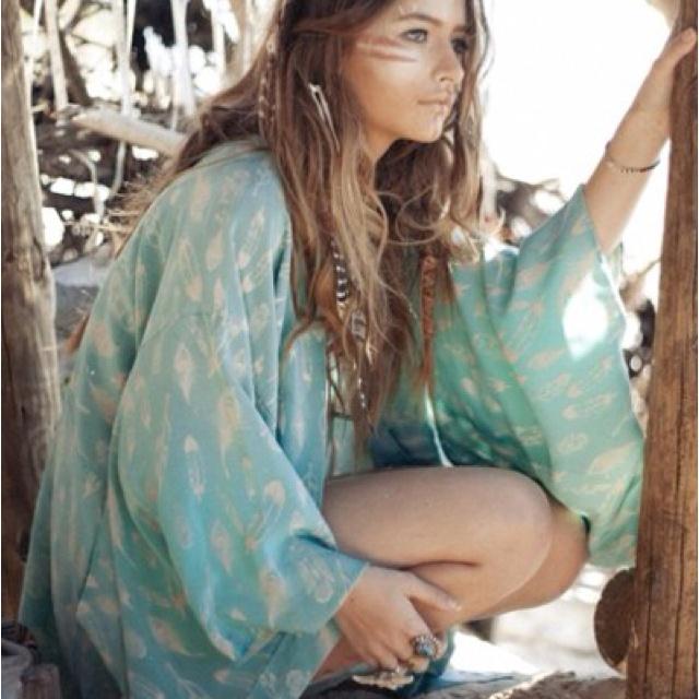 colour: Boho Chic, Fashion, Inspiration, Clothes, Hippie Style, Beach, Bohemian Style, Boho Style, Hair
