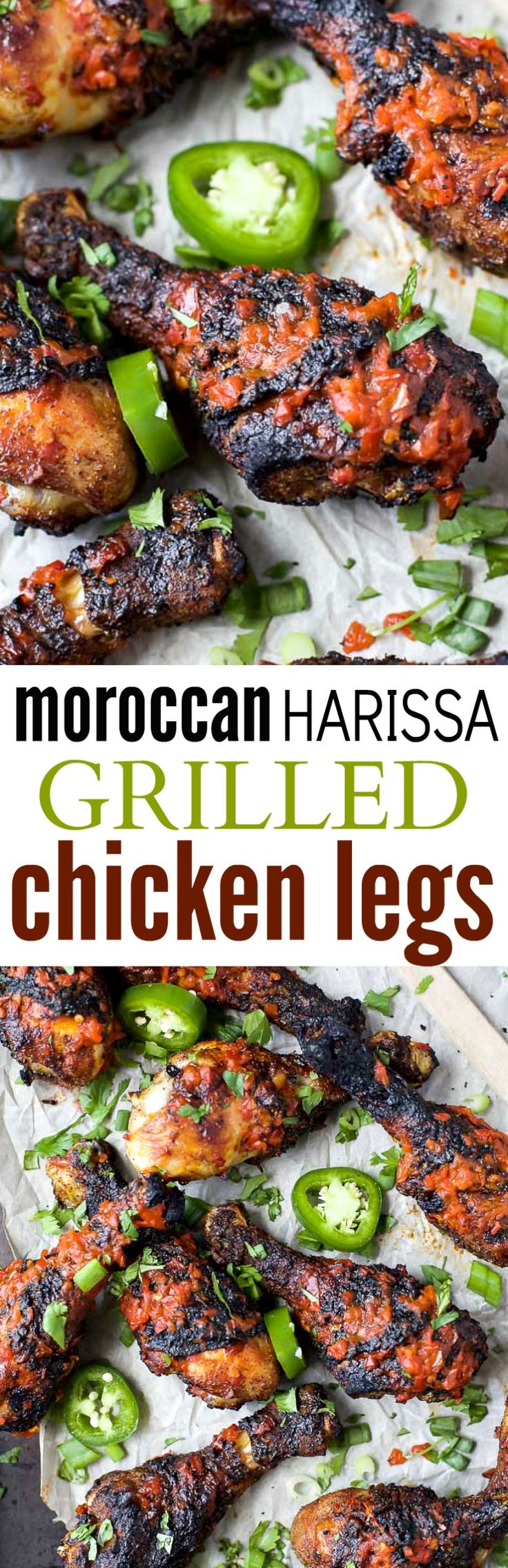 Moroccan Harissa Grilled Chicken Legs the perfect grilling recipe to wow the crowd this summer! | gluten free recipes (Gluten Free Recipes Mexican)