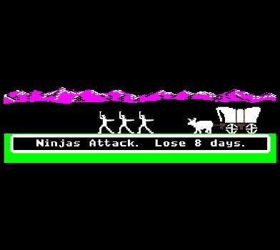 Oregon Trail memes: Ninjas Attack. Lose 8 days. | Games ...