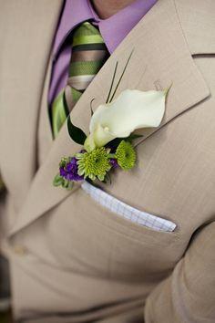 tan suit green tie - Google Search