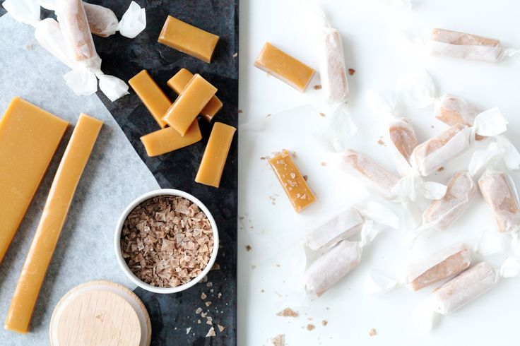 Yuzu Caramels with Smoked Salt | Natalie Eng | Pâtisserie & Food Photography