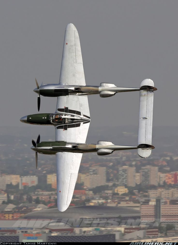 Lockheed P-38L Lightning. My high school Chemistry teacher, Mr Williams, flew one of these in Europe during WWII. It was all too easy to get him off subject and recounting war stories!