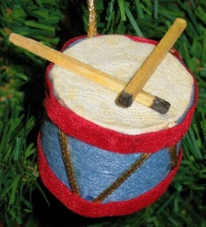Little Drummers Boy Ornament Parumpapapum Christmas