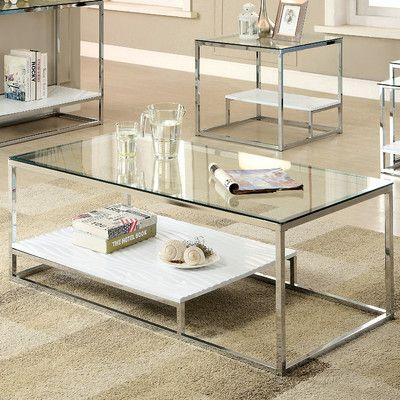 wayfair glass coffee table | idi design