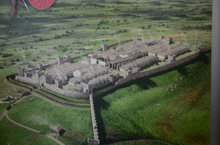 What Roman Vindolanda might have looked like 1700 years ago.