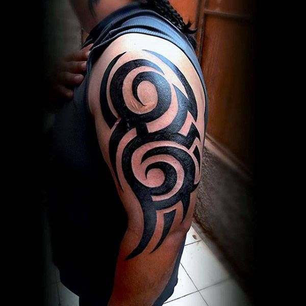 Tribal Tattoos Left Arm