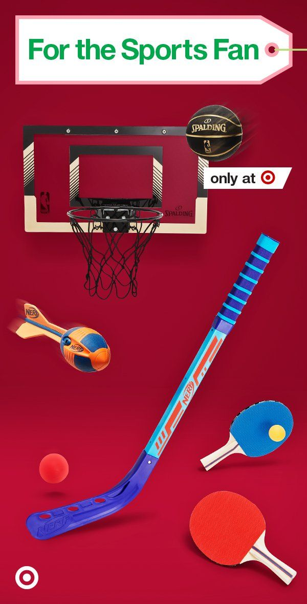 We've scouted the top sports gifts for kids from NERF hockey & football to NBA basketball & more.