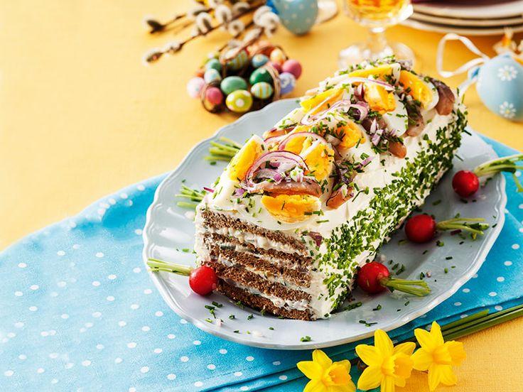 Påskens festliga silltårta – läcker och lättlagad!